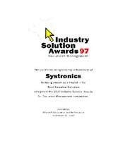 Microsoft - Finalist - Best Imaging Solution '97